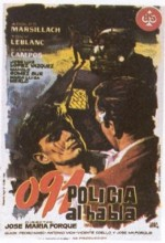 091 Policía Al Habla (1960) afişi