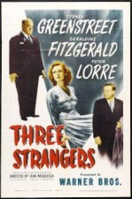 Three Strangers (1946) afişi