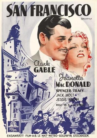 San Francisco (1936) afişi