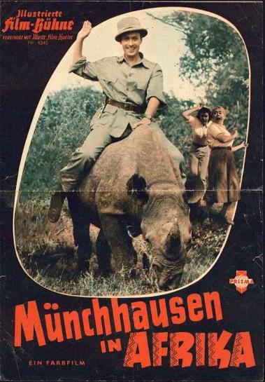 Münchhausen in Afrika  afişi