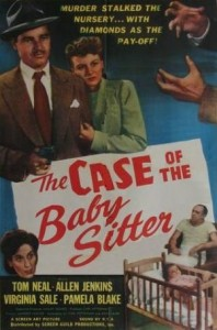 The Case of the Baby Sitter (1947) afişi