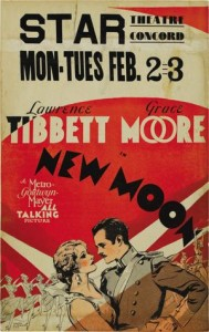 New Moon (1930) afişi