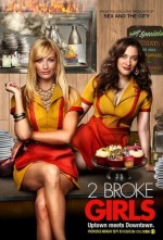 2 Broke Girls Sezon 4 (2014) afişi