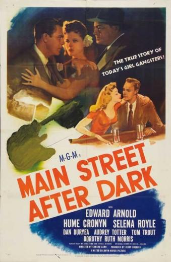 Main Street After Dark (1945) afişi