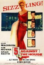 5 Against The House (1955) afişi