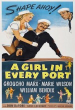 A Girl in Every Port (1952) afişi