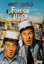 Abbott And Costello in The Foreign Legion (1950) afişi