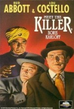 Abbott and Costello Meet the Killer, Boris Karloff (1949) afişi