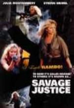 Savage Justice (1988) afişi