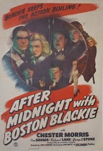 After Midnight With Boston Blackie (1943) afişi