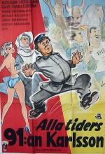 Alla Tiders 91 Karlsson (1953) afişi
