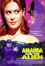 Amanda & The Alien (1995) afişi