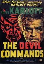 As the Devil Commands (1933) afişi