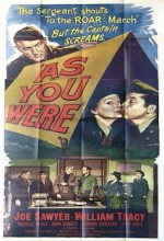 As You Were (1951) afişi