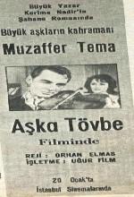 Aşka Tövbe(ı) (1963) afişi