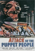 Attack Of The Puppet People (1958) afişi
