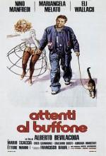 Attenti Al Buffone (1975) afişi