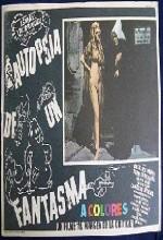 Autopsia De Un Fantasma (1968) afişi