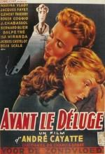 Avant Le Déluge (1954) afişi