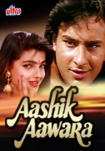 Aashik Aawara (1993) afişi