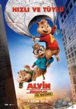 Alvin ve Sincaplar: Yol Macerası (2015) afişi