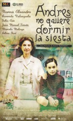 Andrés No Quiere Dormir La Siesta (2009) afişi