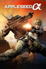 Appleseed Alpha (2014) afişi