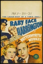 Baby Face Harrington (1935) afişi