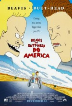 Beavis And Butt-Head Do America (1996) afişi