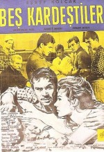 Beş Kardeştiler (1962) afişi