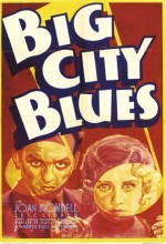 Big City Blues (1932) afişi