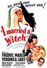Bir Cadıyla Evlendim (1942) afişi