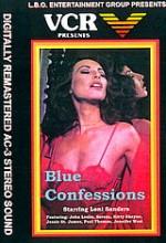 Blue Confessions (1984) afişi
