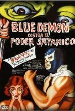 Blue Demon Vs. El Poder Satánico (1966) afişi