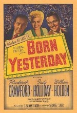Born Yesterday (1950) afişi