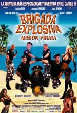 Brigada explosiva: Misión pirata (2008) afişi