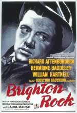 Brighton Rock (1947) afişi