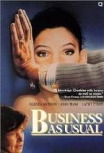 Business As Usual (ı) (1987) afişi