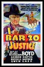 Bar 20 Justice (1938) afişi