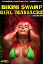Bikini Swamp Girl Massacre (2014) afişi