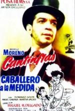 Caballero A La Medida (1954) afişi