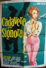 Cadavere Per Signora (1964) afişi