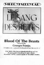 Canavarların Kanı (1949) afişi