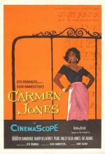 Carmen Jones (1954) afişi