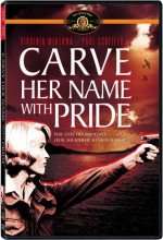 Carve Her Name With Pride (1958) afişi