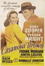 Casanova Brown (1944) afişi