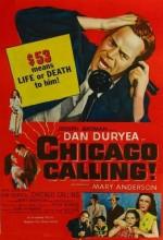 Chicago Calling (1952) afişi