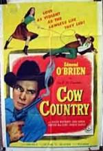 Cow Country (1953) afişi