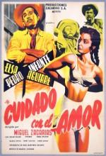 Cuidado Con El Amor (1954) afişi