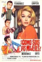 ¡cómo Sois Las Mujeres! (1968) afişi